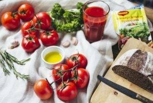 Томатный суп-пюре с розмарином - 0