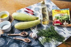 Закуска из маринованных кабачков - 0