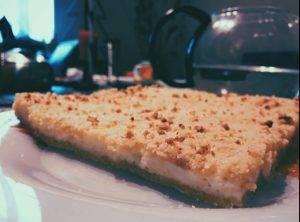 Творожный пирог из крошек - 0