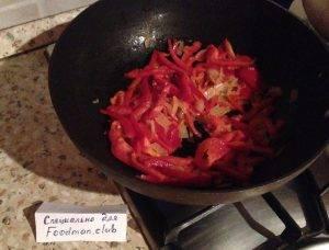 Спагетти с фаршем и овощами - 2