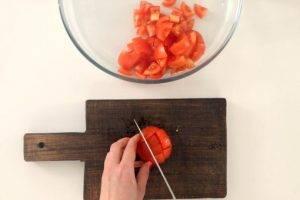 Салат с креветками и кунжутом - 0