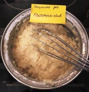Заварные пирожные с творожно-малиновым соусом - 1