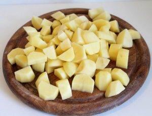 Картофель тушеный с паприкой - 0