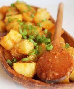 Картофель тушеный с паприкой - 5