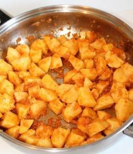 Картофель тушеный с паприкой - 2