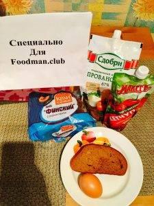 Финский бутерброд с сахарным сиропом - 0