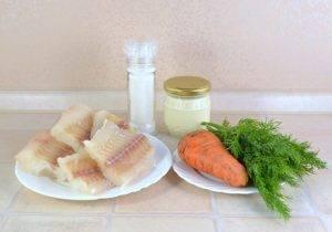 Рыбный салат из минтая - 0