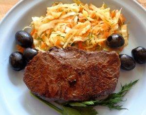 Бифштекс из говядины - 1