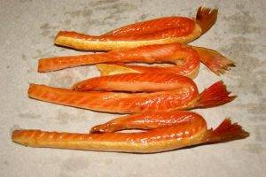 Копченая красная рыба - 1