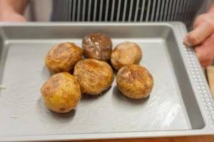 Картофель, фаршированный курицей с овощами - 0