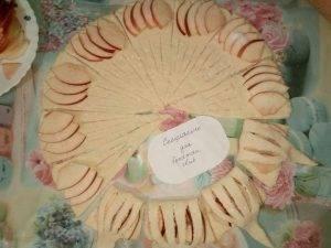 Творожные конвертики с яблоком - 11