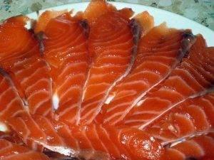 Простой рецепт соленой красной рыбы - 1