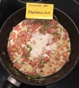 Паста с креветками в сливочном соусе - 4