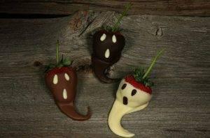 Клубника в шоколаде на Хэллоуин - 1