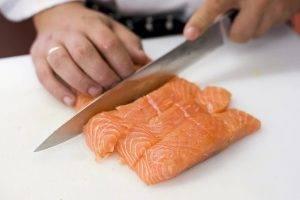 Запеченный лосось со сливками и сыром - 0
