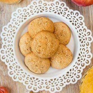 Печенье в медово-кунжутной глазури - 4