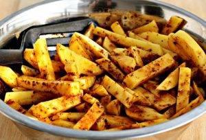 Картофель со специями, жареный в духовке - 4
