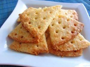 Сырные крекеры - 3