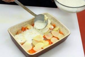 Минтай запеченный с овощами - 3