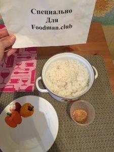 Рисовые шарики в панировочных сухарях с корицей - 0
