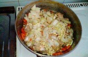 Узбекский плов с курицей в духовке - 1