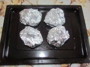 Запеченный картофель с сыром - 0