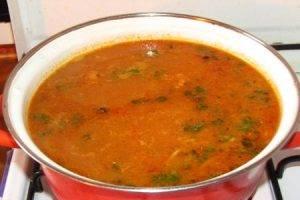 Фасолевый суп - 2