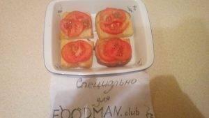 Запеченные бутерброды с помидорами и сыром - 3