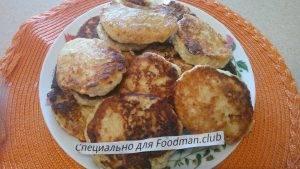 Сырники с яблоками и корицей - 6
