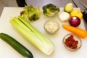 Салат с пророщенной пшеницей - 0
