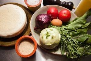 Салат с жареным сыром - 0