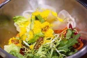 Салат из овощей с кускусом - 1