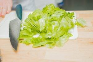 Хрустящий яблочный салат - 0