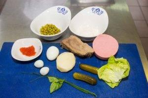 Салат «Оливье» с телятиной - 0