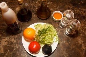 Салат с инжиром и апельсином - 0
