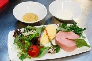 Салат с ветчиной и сыром - 0