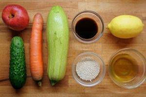 Феттуччине из овощей - 0