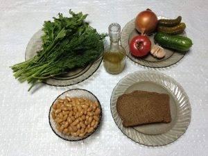 Салат из белой фасоли в томатном соусе - 0
