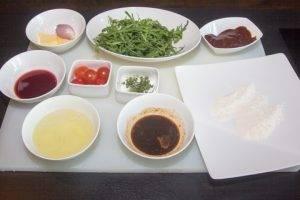 Салат с телячьей печенью - 0