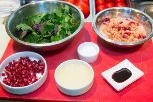 Салат из зелени с бобовыми - 0