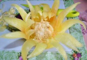 Салат «Нежность» в чашечке-цветке - 1