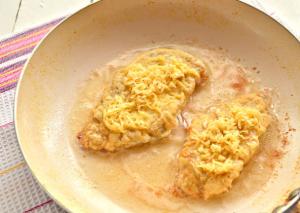 Шницель из куриного филе с сыром - 6