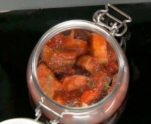 Баклажаны с помидорами и чесноком на зиму - 2