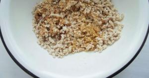 Халва из грецких орехов - 2