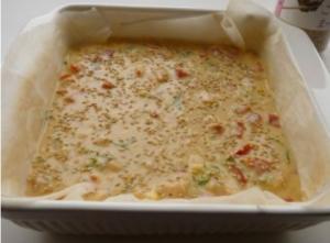 Французский кекс с лососем - 2
