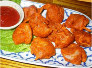 Пакора - жареные овощи в тесте - 2