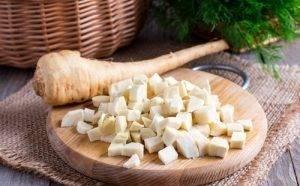 Суп-пюре с семгой, цветной капустой и рисом - 1