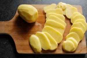 Сырный пирог с картофельной корочкой - 0
