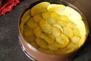 Сырный пирог с картофельной корочкой - 1