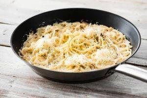 Спагетти с лимонным соусом - 1